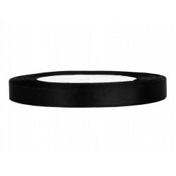 Taśma satynowa czarna 6mm x...