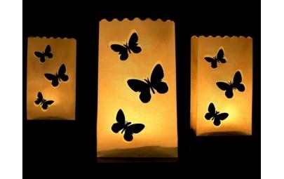 Lampion torebka na świece...