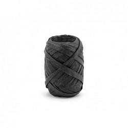 Wstążka rafia czarna 5mm x 10m