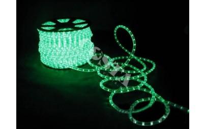 Wąż świetlny led zielony 1mb