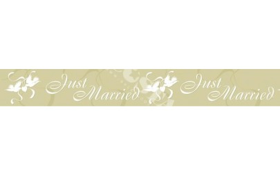 Baner ślubny Just Married...