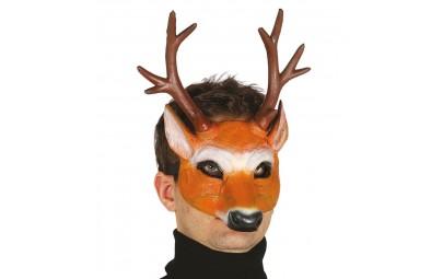 Półmaska jelenia z pianki