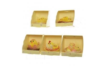 Kurczaki w gnieździe 5x4cm
