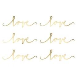 Dekoracja papierowa Love...