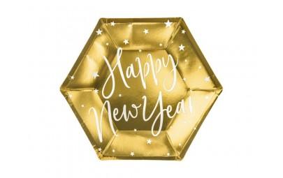 Talerze Happy New Year...